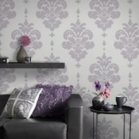 Graham & Brown Olana Lilac Wallpaper