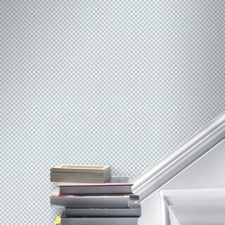 Graham & Brown Trellis Grey Wallpaper
