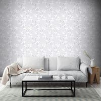 Graham & Brown Cherry Blossom Silver Wallpaper
