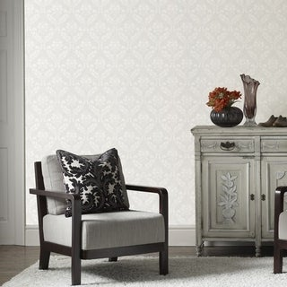 Graham & Brown Medium Damask Paintable Wallpaper