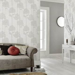 Graham & Brown Eternal White Mica Wallpaper