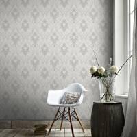 Graham & Brown Royale Grey Wallpaper
