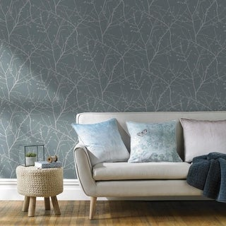 Graham & Brown Innocence Duck Egg Wallpaper