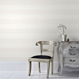 Graham & Brown Calico Stripe Cream Wallpaper