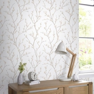 Graham & Brown Karma Natural Wallpaper