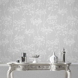 Graham & Brown Aura Grey Wallpaper