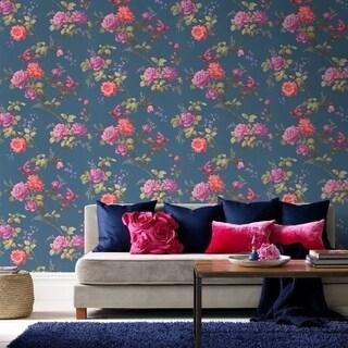 Graham & Brown Oriental Blue Wallpaper
