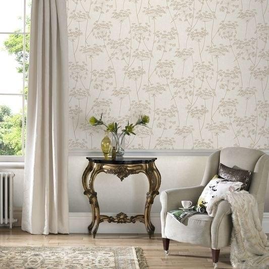 Graham & Brown Aura Natural Wallpaper
