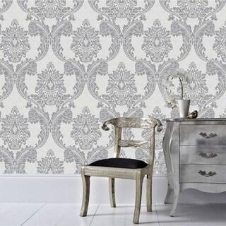 Graham & Brown Regent Grey Wallpaper