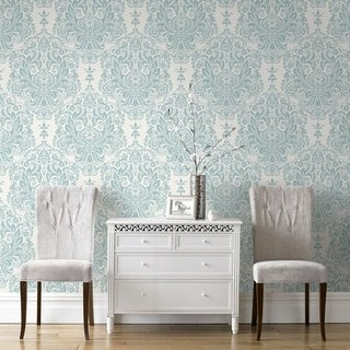 Graham & Brown Melody Duck Egg Wallpaper