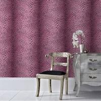 Graham & Brown Leopard Pink Wallpaper