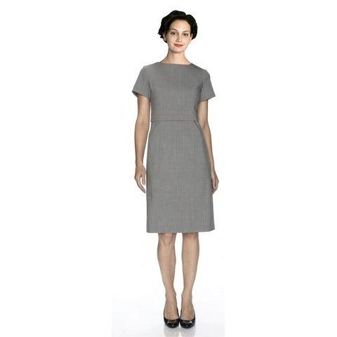 Twin Hill Womens Dress Grey Heather Flattering