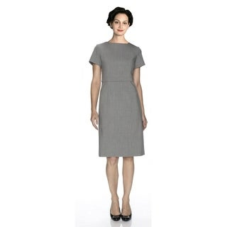 Twin Hill Womens Dress Grey Heather Flattering