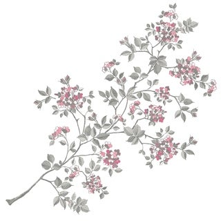Cherry Blossom Wall Art Kit - 34.5in x 39in x 0.125in