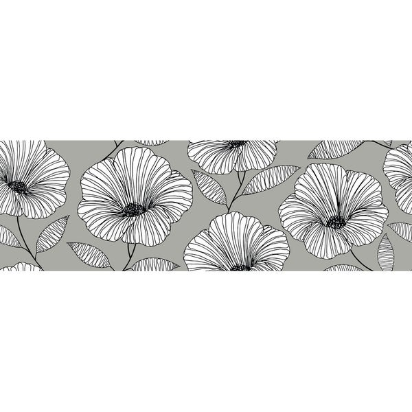 Moon Flower Stair Stripe Decal - 144in x 6.5in x 0.125in