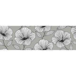 Moon Flower Stair Stripe Decal - 144in x 6.5in x 0.125in