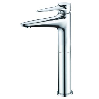 ALFI brand AB1771-PC Polished Chrome Tall Single Hole Bathroom Faucet