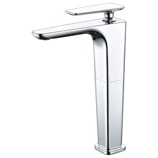 ALFI brand AB1778-PC Polished Chrome Tall Single Hole Modern Bathroom Faucet