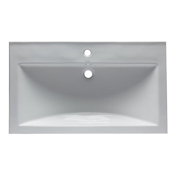 Eago Bh001 White Ceramic 32 X19 Rectangular Drop In Sink On Sale Overstock 17806498