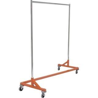 Nesting Z Base Garment Rack, Commercial Grade Rolling Garment Rack with Orange Base|https://ak1.ostkcdn.com/images/products/17806665/P24000655.jpg?impolicy=medium