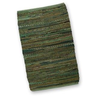 Olive Chindi Rug- 2' x 3'