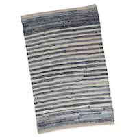 DII Chindi Stripe Rug (20 inches wide x 31.5 inches long) - 1'8 x 2'7