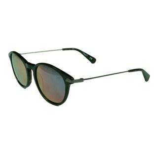 Kenneth Cole Women's KC7202 52U Dark Havana w/ Bordeaux Mirror Lens Sunglasses