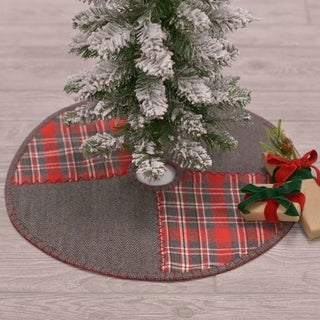 Anderson Patchwork Mini Tree Skirt