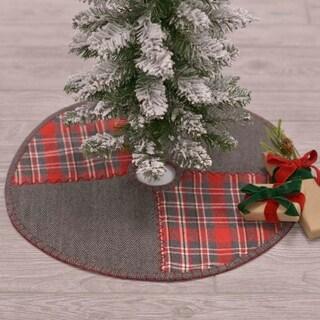 Anderson Patchwork Mini Tree Skirt