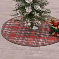 Anderson Plaid Mini Tree Skirt