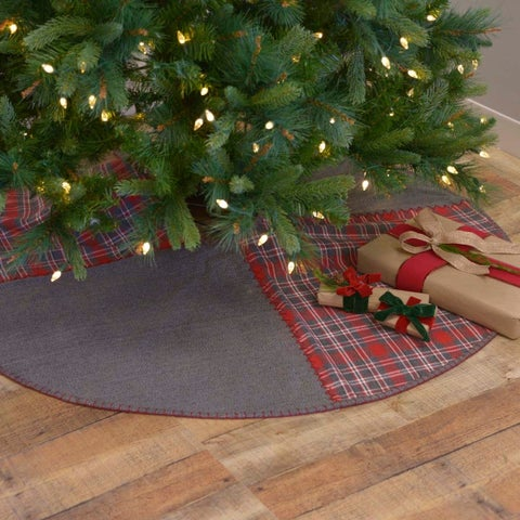 """Anderson 55"""" Patchwork Tree Skirt"""