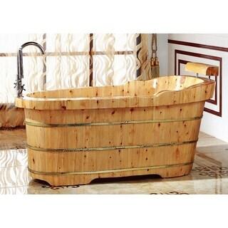 Alfi AB1139 Brown Cedar Wood 61-inch Free-standing Bathtub https://ak1.ostkcdn.com/images/products/17807245/P24000922.jpg?_ostk_perf_=percv&impolicy=medium
