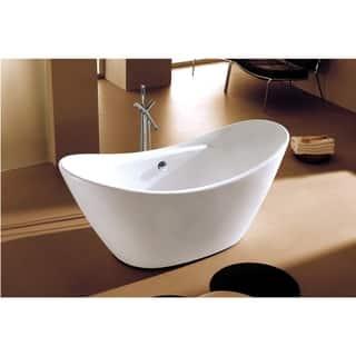 Alfi AB8803 White Acrylic 68-inch Oval Free-standing Soaking Bathtub https://ak1.ostkcdn.com/images/products/17807249/P24000925.jpg?impolicy=medium