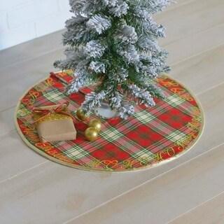 HO HO Holiday Mini Tree Skirt