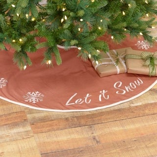 Let It Snow Tree Skirt