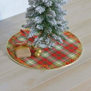 "HO HO Holiday 48"" Tree Skirt"