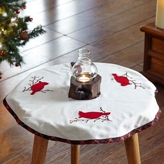Seasons Greetings Mini Tree Skirt
