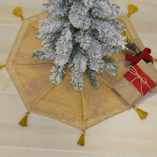Tinsel Tree Skirt