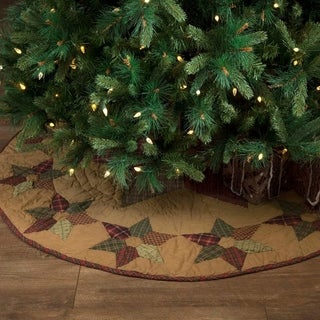 "Tea Star 55"" Tree Skirt"