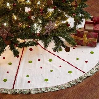 Whimsical Christmas Tree Skirt