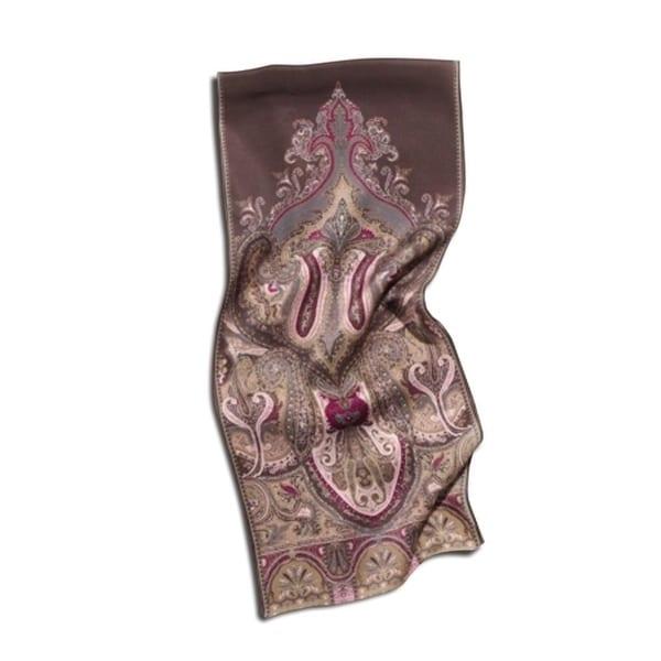 Twin Hill Women's Pink Silk Scarf
