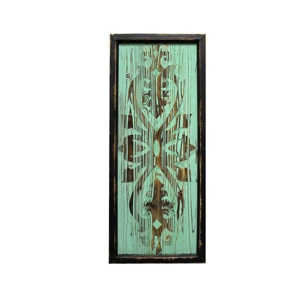 """30"""" Wood Deco- Green"""