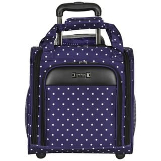 Kenneth Cole Reaction Dot Matrix 14-inch Polka Dot Rolling Carry On Underseat Tote Bag https://ak1.ostkcdn.com/images/products/17809185/P24002946.jpg?impolicy=medium
