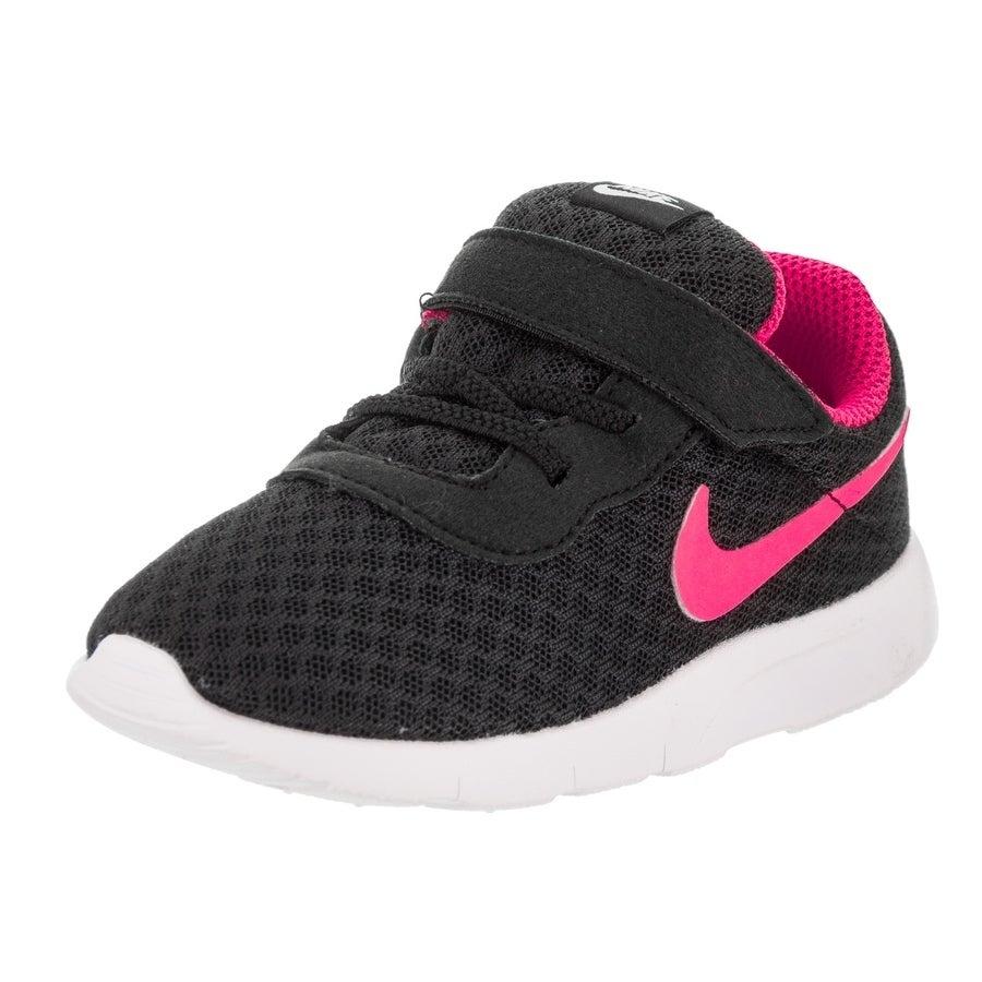 Nike Toddlers Tanjun (TDV) Running Shoe (9), Boy's, Black...