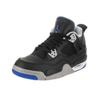 Nike Jordan Kids Air Jordan 4 Retro BG Basketball Shoe|https://ak1.ostkcdn.com/images/products/17809198/P24002954.jpg?impolicy=medium