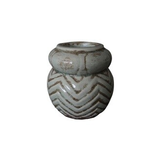 """Themis 4"""" Terracota Candle Holder"""
