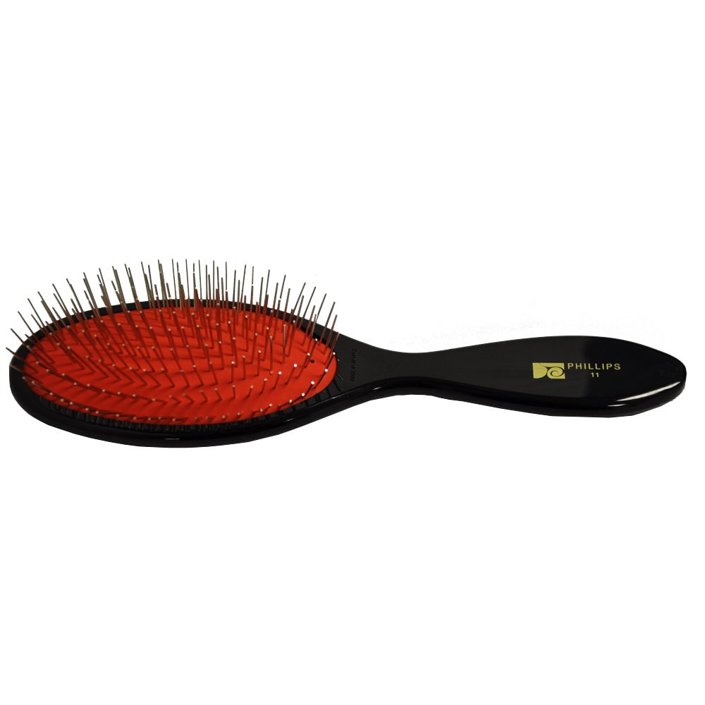 Philips 11 Metal (Grey) Bristles with Red Cusion