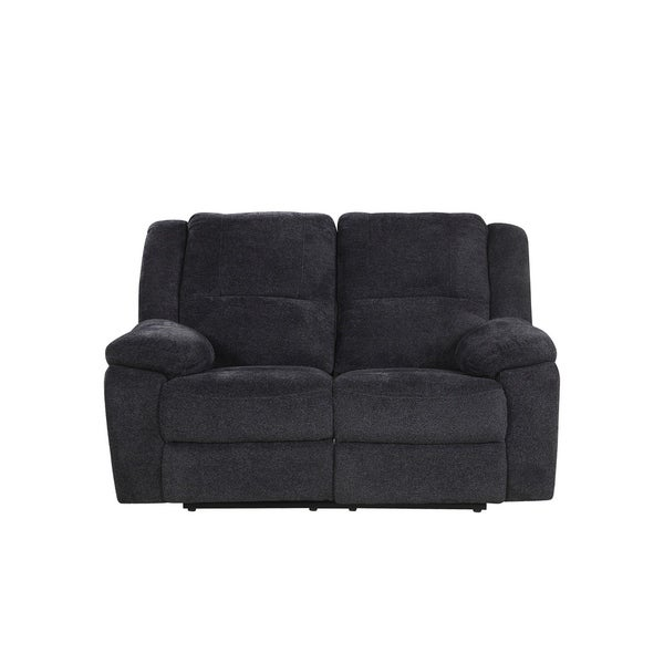 Shop Classic Microfiber Living Room Loveseat Sofa