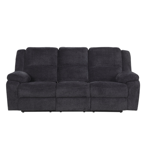 Shop Classic Microfiber Sofa Couch With Ultra Comfortable