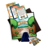 Zookeeper Coin and Trading Card Kit in Travel Box